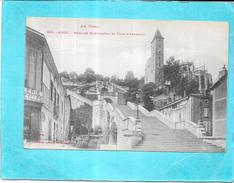 AUCH - 32 - L'Escalier Monumental Et Tour D'Armagnac - Edit Labouche -ENCH1612 - - Auch