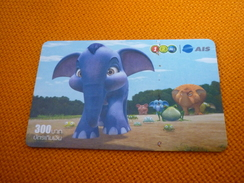 Elephant Thailand Prepaid Phonecard - Jungle