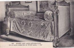 Mobilier - Lit En Acajou Sculpté - Fin Du XVIIIe S. - Autres