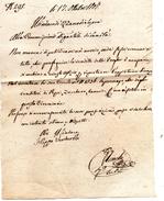 1807 LETTERA - Manuscripts