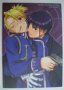 """Fan Manga / Fanbook : """" Roy Mustang & Riza Hawkeye """"  FullMetal Alchemist ( Parody )."""