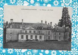 CPA 72 COULONGES SUR SARTHE LE CHATEAU COTE NORD - Autres Communes