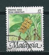 2000 Malaysia $5.00 Pisang,banaan,bananas Used/gebruikt/oblitere - Maleisië (1964-...)