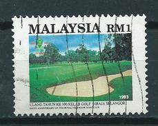 1993 Malaysia Golf Used/gebruikt/oblitere - Maleisië (1964-...)