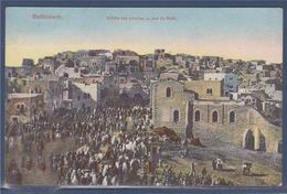 Bethléem Entrée Des Pèlerins, Le Jour De Noël, Cisjordanie - Palestine - Palestine