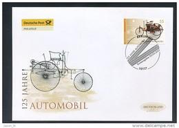 GERMANY Mi. Nr. 2867 25 Jahre Automobil - FDC - [7] Federal Republic
