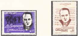 URUGUAY - 1988 - Gerardo Rodriguez - Yvert 1247/1248  Neufs ** - Uruguay