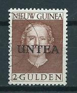 1962 Netherlands New Guinea Untea 2 Gulden Queen Juliana Used/gebruikt/oblitere - Nederlands Nieuw-Guinea