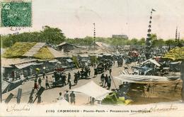 CAMBODGE(PHNOM PENH) PROCESSION - Kambodscha
