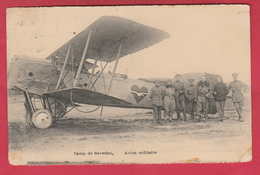 Leopoldsburg - Kamp Van Beverlo - Avion Militaire ...vliegtuig Fokker VII - 1922 ( Verso Zien ) - Leopoldsburg (Camp De Beverloo)