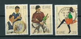 1980 Ireland Complete Set Folklore Used/gebruikt/oblitere - 1949-... Republiek Ierland