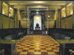 Belg. 2008 - COB N° 3782 ** - La Franc-maçonnerie (bloc 155) - Unused Stamps