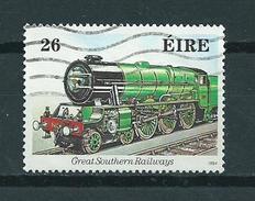 1984 Ireland 26p Trains,treinen,railways Used/gebruikt/oblitere - 1949-... Republiek Ierland