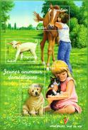 France.bloc No 96 De 2006.les Jeunes Animaux Domestiques.n**. - Blocs & Feuillets
