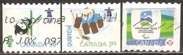 Canada - 2009 - Mascottes - YT 2404 Et 2406 Oblitérés