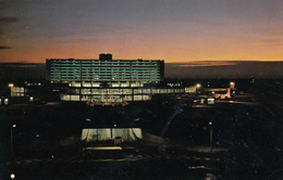 G , Cp , TRANSPORTS , TORONTO International Airport , Ontario , Canada , Vue De Nuit