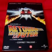 Dvd Zone 2 Retour Vers Le Futur Back To The Future Coffret Trilogie Universal Vf +vost - Sciences-Fictions Et Fantaisie