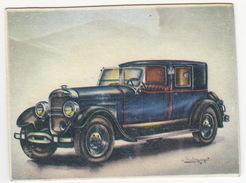 Chromo Cigarettes : Virginia 'Full Speed' -  LINCOLN (U.S.A.) -  Bj. 1926 - No. 50 - (on 2 Scans) - Andere Merken