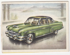 Chromo Cigarettes : Virginia 'Full Speed' -  MERCURY (U.S.A.) -  Bj. 1954 - No. 188 - (on 2 Scans) - Sigaretten