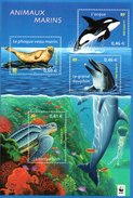 France.bloc N° 48 De 2002.animaux Marins.n**. - Nuovi