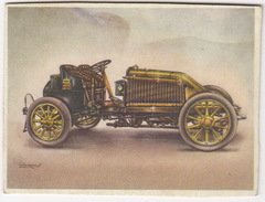 Chromo Cigarettes : Virginia 'Full Speed' - RENAULT Renwagen , Bj. 1903 - Frankrijk - No. 13 - (on 2 Scans) - Autres Marques