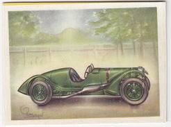 Chromo Cigarettes : Virginia 'Full Speed' - LAGONDA Type 'Le Mans' , Bj. 1939 (Gr. Br.) - No. 162 - (on 2 Scans) - Sigaretten
