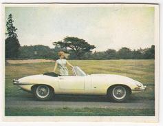 Chromo: JAGUAR E-Type  1962 -- No. 124- (2 Scans) - Vieux Papiers