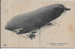 CPA Dirigeable Aviation Circulé Le Patrie - Dirigeables