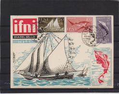 Ifni -  Sidi 23/11/1958    (RM10902) - Fishes