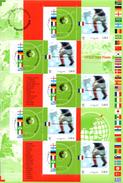 France.bloc No 49 De 2002.championnat Du Monde De Football.n**. - Nuovi