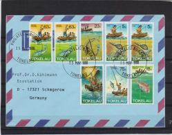 Tokelau -  25/5/1998   (RM10949) - Vissen