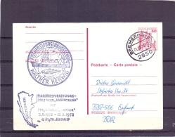Deutsche Bundespost - Fischereiforschungsschiff - Walther Herwig - Bremerhaven 21/12/78  (RM10955) - Fishes