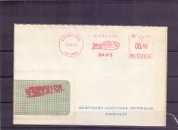 Sverige - Sandvik Saws - 5/11/53   (RM11068) - Poissons