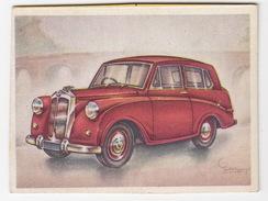 Chromo Cigarettes : Virginia 'Full Speed' - TRIUMPH Mayflower Saloon, Bj. 1952 - (Gr. Br.) -No. 149- (2 Scans) - Autres Marques