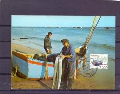 Portugal - Fishermen -  Fuseta 1979   (RM11281) - Fishes