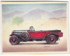 Chromo Cigarettes : Virginia 'Full Speed' - FIAT 519 Sport Torpedo , Bj. 1924 - (Italië) -No. 45- (2 Scans) - Sigaretten
