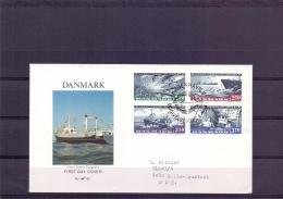 Danmark - Dansk Fiskeri - FDC - Kobenhavn 6/9/81  (RM11359) - Fishes