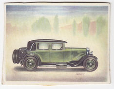 Chromo Cigarettes : Virginia 'Full Speed' - PANHARD-LEVASSOR 27 CV , Bj. 1928 - (Frankrijk) - No. 54- (2 Scans) - Sigaretten