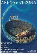 ARENA DI VERONA - 1981 -RIGOLETTO  AIDA NABUCCO -   (VR) - Verona