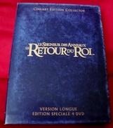Dvd Zone 2 Le Seigneur Des Anneaux - Le Retour Du Roi  Version Longue Cineart Edition Collector Vf +vost - Sciences-Fictions Et Fantaisie