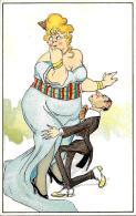 [DC3849] CPA - BELLISSIMA CARTOLINA ILLUSTRATA - HUMOR - Non Viaggiata - Old Postcard - Humor