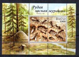 Belarus - 2002 - Ants Miniature Sheet - MNH - Belarus