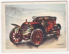 Chromo Cigarettes : Virginia 'Full Speed' - LOCOMOBILE , Bj. 1911 - (U.S.A.) - No. 28 - (2 Scans) - Sigaretten