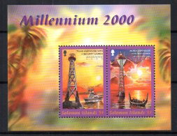 Solomon Islands - 2000 - New Millenium Miniature Sheet - MNH - Salomon (Iles 1978-...)