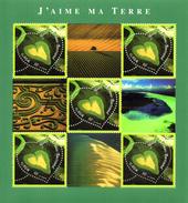 France.bloc 43 De 2002.j'aime Ma Terre.n**. - Nuovi