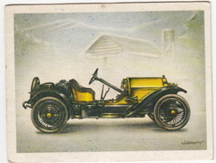 Chromo Cigarettes : Virginia 'Full Speed' - STUTZ ' Bearcat' Roadster , Bj. 1914 - (U.S.A.) - No. 33 - (2 Scans) - Sigaretten