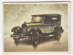Chromo Cigarettes : Virginia 'Full Speed' - CHRYSLER '70' Tourer , Bj. 1924 - (U.S.A.) - No. 44 - (2 Scans) - Sigaretten