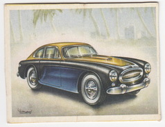Chromo Cigarettes : Virginia 'Full Speed' - CUNNINGHAM C3 'Continental' Coupé , Bj. 1953 - (U.S.A.) -No. 186- (2 Scans) - Sigaretten