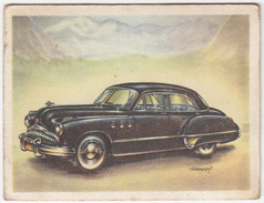 Chromo Cigarettes : Virginia 'Full Speed' - BUICK , Bj. 1949 - (U.S.A.) - No. 139 - (2 Scans) - Sigaretten
