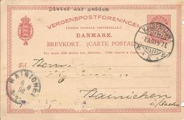 1896 - DANMARK, 2 Scan - 1864-04 (Christian IX)